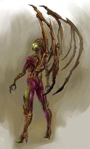 Concept Art of Kerrigan