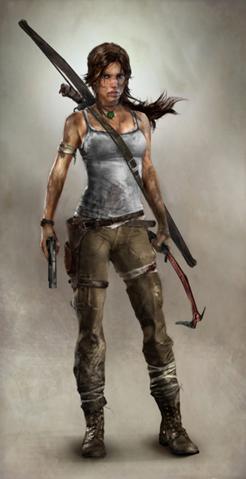 Current Lara Croft