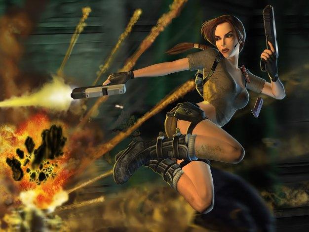 Early Lara Croft