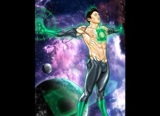 Green Lantern by Joe Phillips